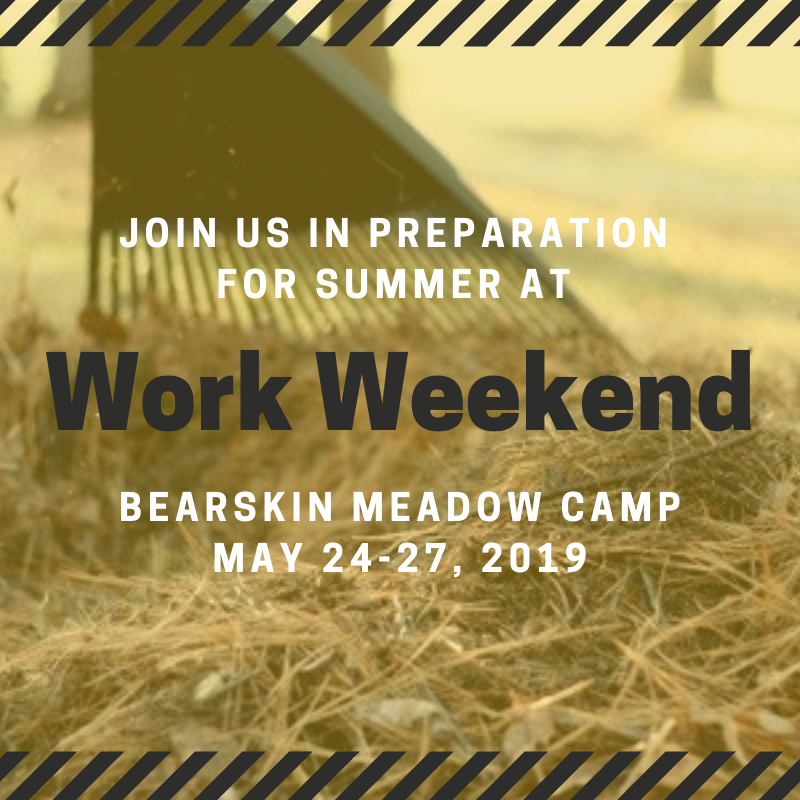 Join us for Work Weekend!
