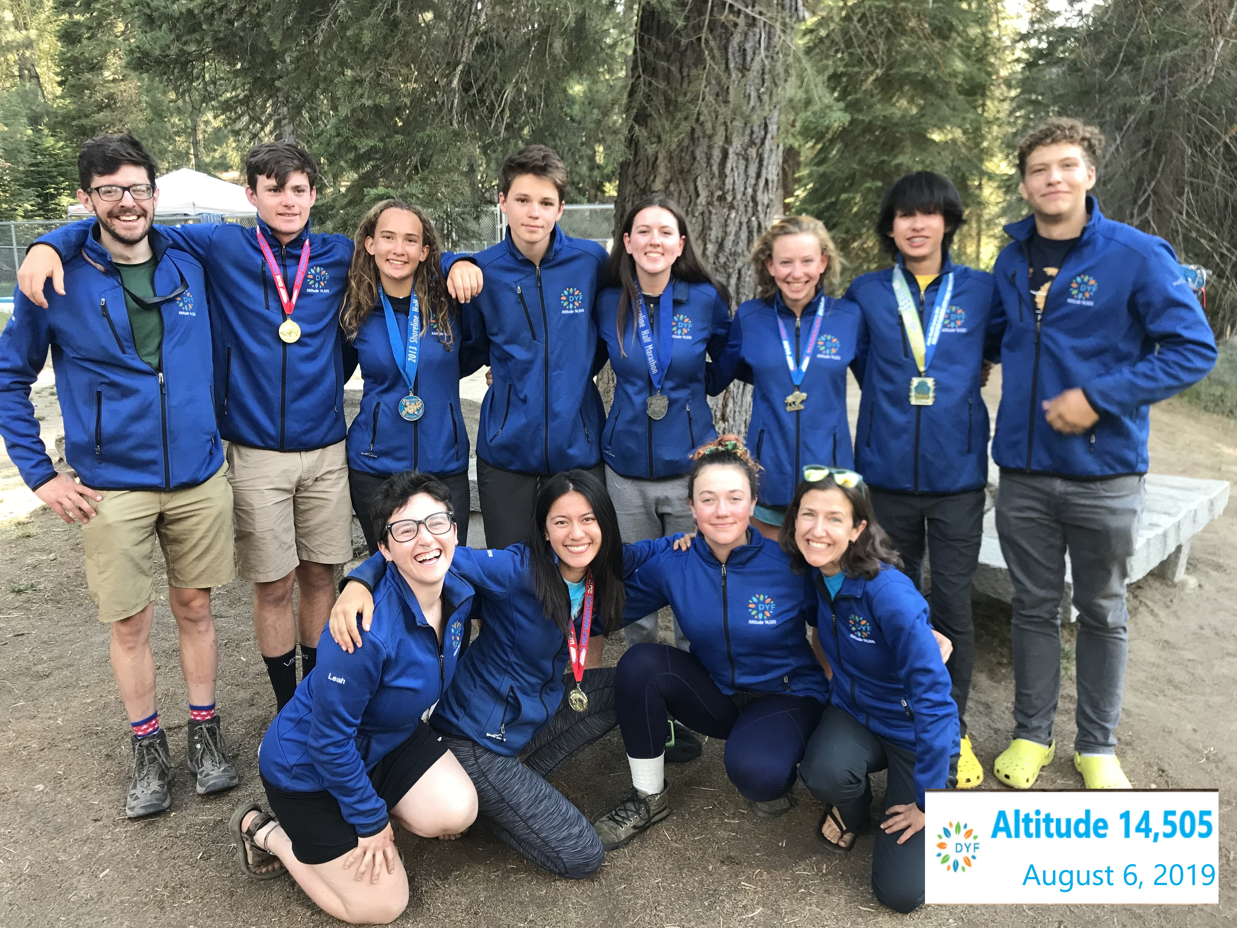 Teens Reach New Heights with Altitude 14,505